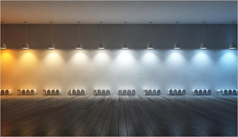 LED, eleccion del color
